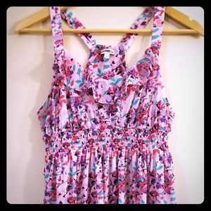 Floral Sweetheart Neckline Tank from Express